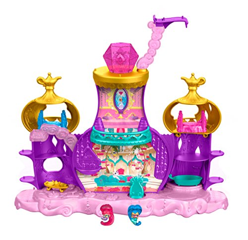Fisher Price Toy Castle (Fisher-Price Nickelodeon Shimmer & Shine, Teenie Genies, Floating Genie Palace Playset)