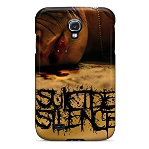 Hot XDN782YCzX Suicide Silence Tpu Case Cover Compatible With Galaxy S4