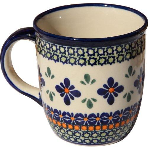 (Polish Pottery Mug 12 Oz.)