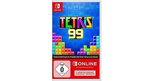 Tetris 99 + 12 Monate Nintendo Switch Online [Importacion Alemania ...