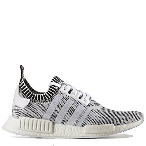 Adidas NMD_R1 PK Men's Shoes White/White/Black by1911 (11.5 D(M) US)