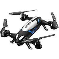 2.4G 4 Channel RC Quadcopter Drone Remote Controlled Car - BLACK
