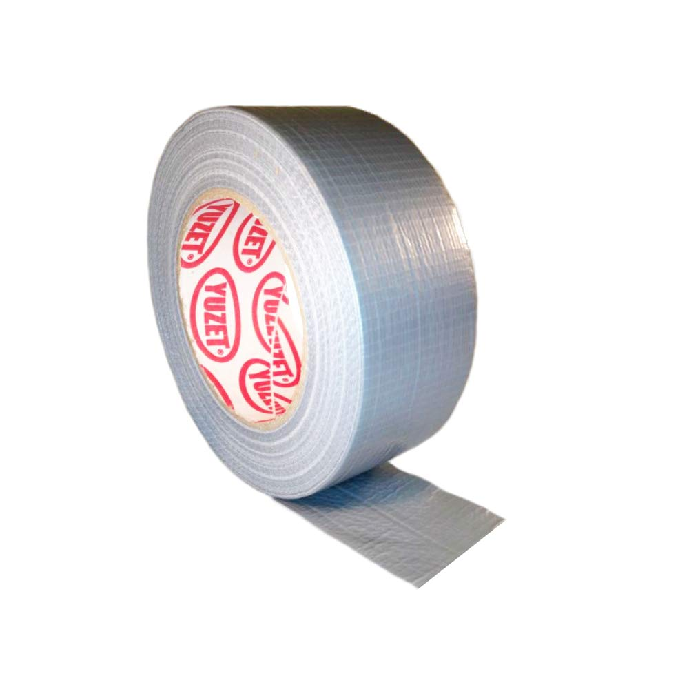 1 Roll Gaffer tape Silver 48mm x 50m gaffa duct duck packing cloth book binding (Pack of 3) Bestport (Europe) Ltd