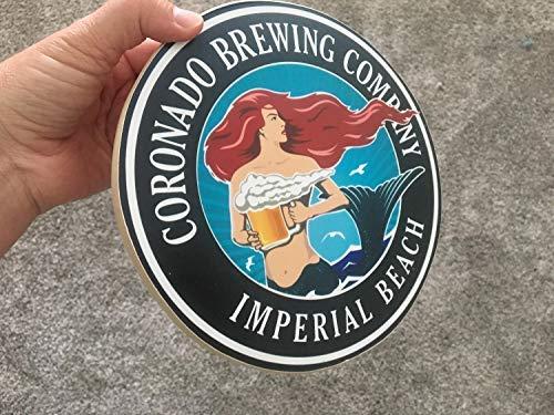 (Iliogine Funny Wood Sign Coronado Brewing Company Photo On Wood Wall Art Decor Porch Entrance Desk Room Plaque)