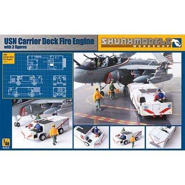 SkunkModels 1/48 USN Carrier Deck Fire Engine