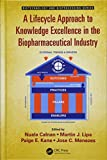 img - for A Lifecycle Approach to Knowledge Excellence in the Biopharmaceutical Industry (Biotechnology and Bioprocessing) book / textbook / text book