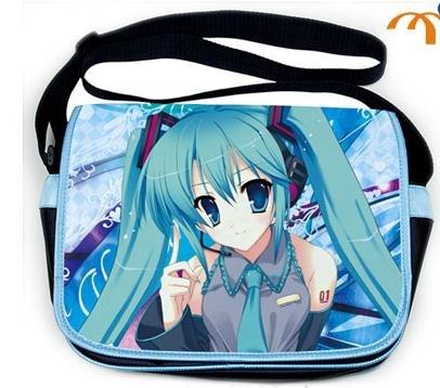 Miku Hatsune Japanese Anime Messenger Bag