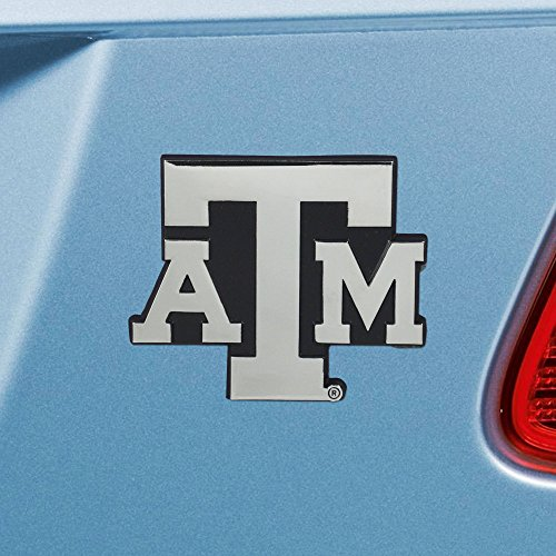 FANMATS  14896  NCAA Texas A&M University Aggies Chrome Team Emblem
