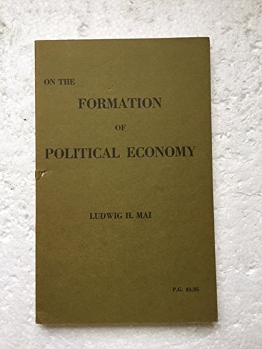 On the formation of political economy