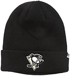 NHL Pittsburgh Penguins \'47 Raised Cuff Knit Hat, Black, One Size