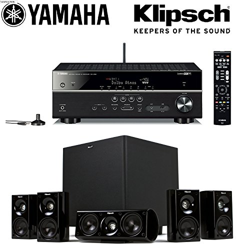 Yamaha rx v581 7 2 ch x 80 watts networking a v receiver for Yamaha 7 2 receiver reviews