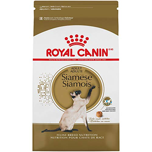 Royal Canin Feline Breed Nutrition Siamese Adult Dry Cat Food, 6-Pound