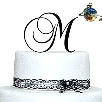 Initials Wedding Cake Topper, Letter Cake Topper, Wedding Cake Topper   A,B