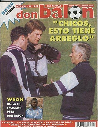 Don Balon numero 1059 (poster central del Betis): Amazon.es ...