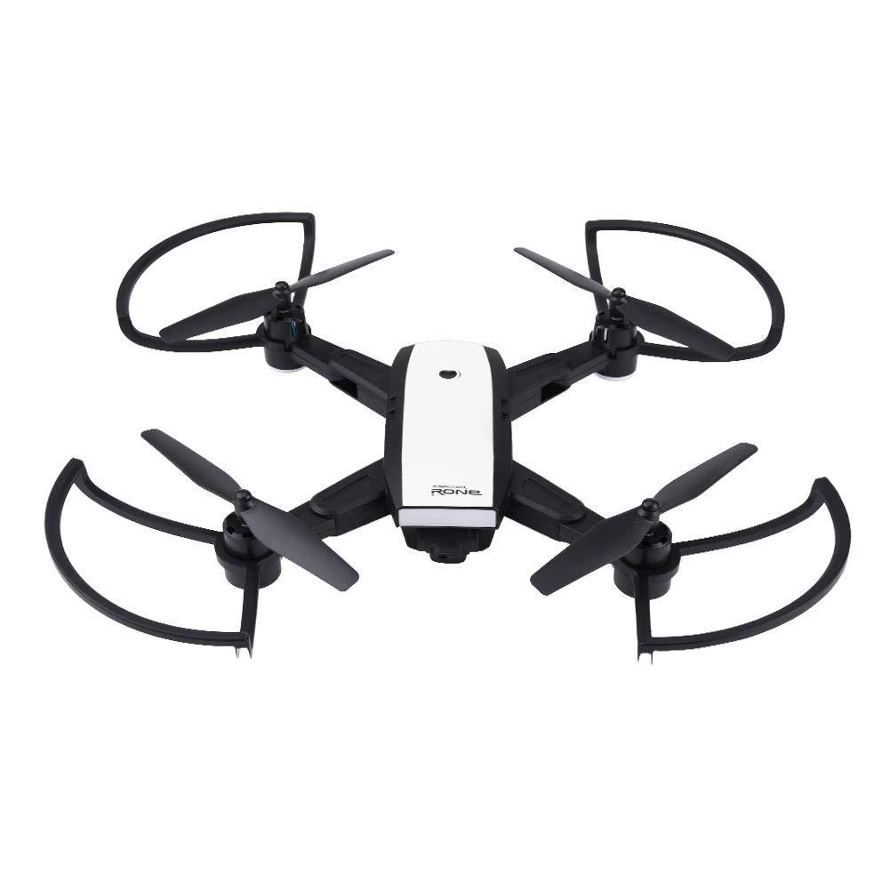 Dilwe Quadcopter, 2.4Ghz Headless Modus One Key Return Wifi RC Hubschrauber mit 1080P HD Kamera LED Leuchten für Anfänger
