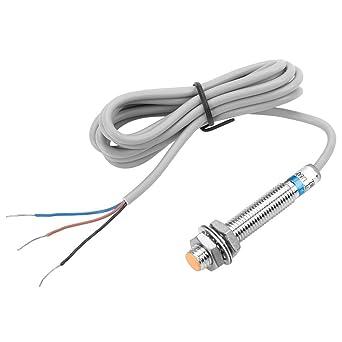 LJ8A3-1-Z/BY PNP 3-cables CC Detector de Proximidad Inductivo