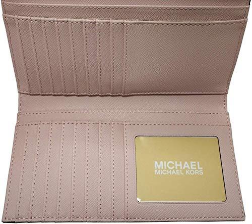 Michael Kors Women's Jet Set Travel Large Trifold Wallet 1