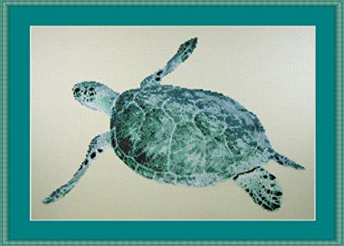 Turtle Ocean Counted Cross Stitch Kit By Orcraphics ()