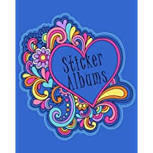 Sticker Albums: Blank Sticker Book, 8 x 10, 64 Pages