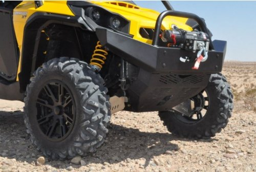 Extreme Metal Products EMP Can-Am Commander Front Bumper/Brush Guard with Winch Mount 10990