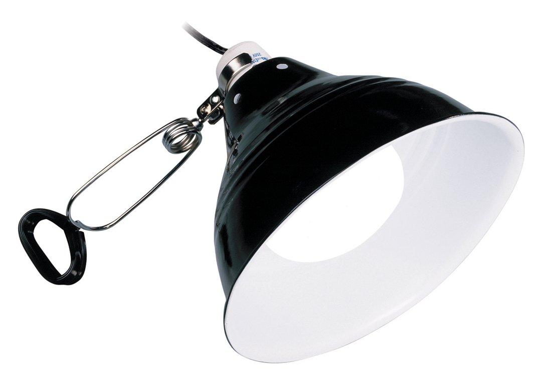 Exo Terra Plafoniera porta lampada per terrario diametro 21cm Exoterra PT2054