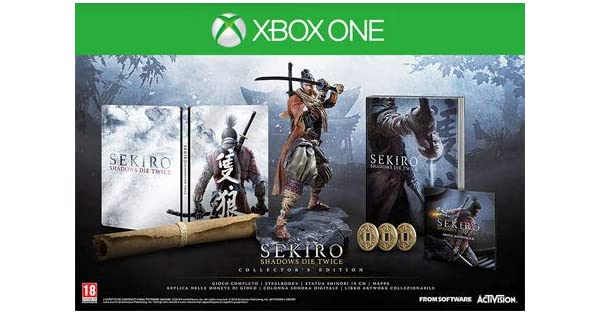 SEKIRO - Shadows Die Twice - Collectors Edition - [Xbox One ...