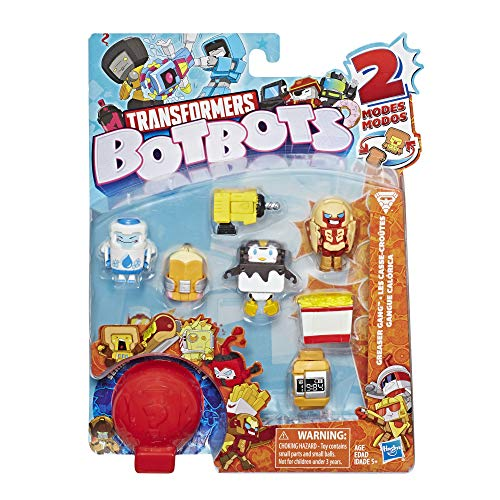 Transformers BotBots Toys Series 1 Greaser Gang 8-Pack -- Mystery 2-in-1 Collectible Figures!