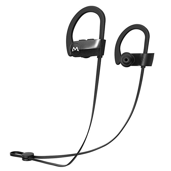 3fa449e77d7 Mpow D7 Bluetooth Headphones 10-12 Hours Playtime, IPX7 Waterproof Wireless  Sports Earbuds w
