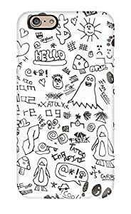 Dana Diedrich Wallace's Shop Hot New Premium Case Cover For Iphone 6/ Doodle Art Protective Case Cover 3352981K19100718