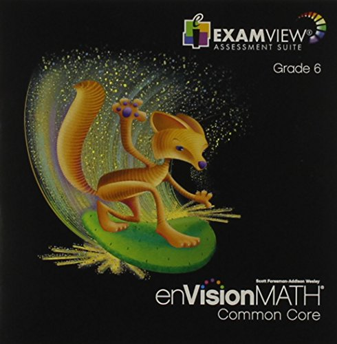 enVision Math Common Core ExamView, Grade 6