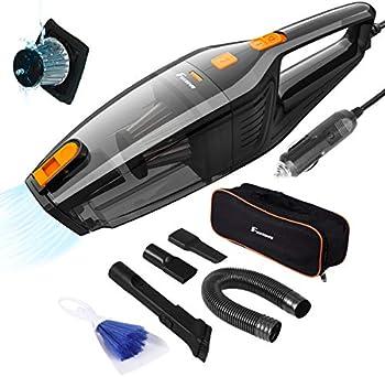 Foxnovo DC 12V 120W High Power Portable Handheld Auto Vacuum Cleaner