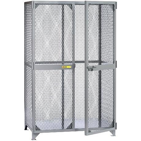 Little Giant SLN 3672 Metal Welded Storage Locker 72 Width X 78 Height X 36 Depth