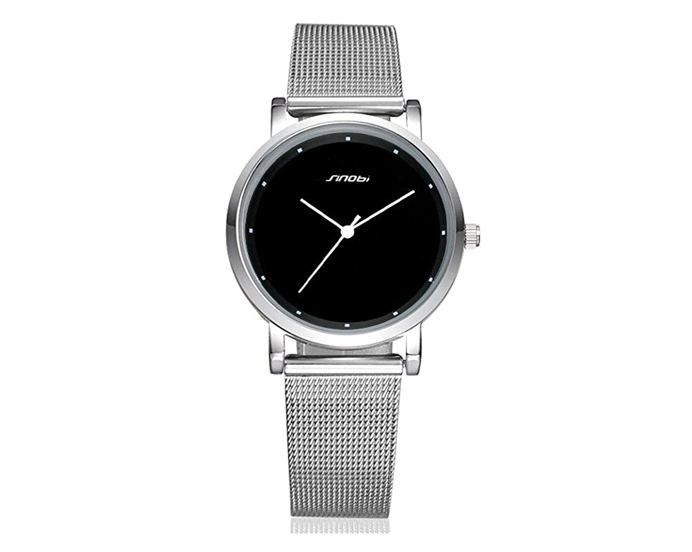 Amazon.com: Reloj De Mujer De Moda 2018 Women Ultra Thin Quartz Watch Mesh Belt Stainless Steel Band RE0081: Watches