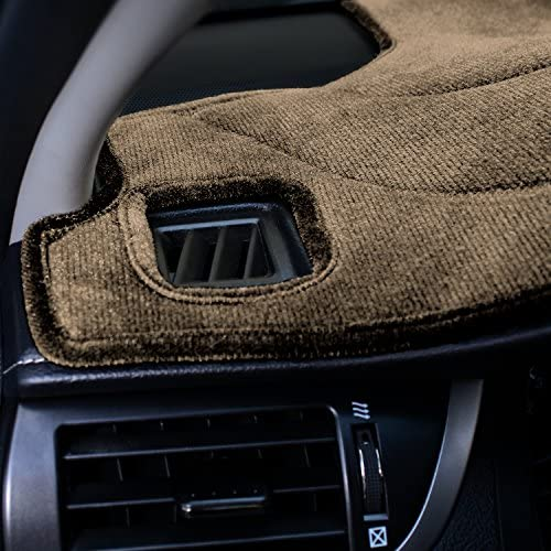 Suede Beige Coverking Custom Fit Dashcovers for Select Toyota Avalon Models