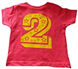 """Best Custom Kingdom Two Year Old Gifts - Custom Kingdom Baby Girls' """"Two"""" Superstar Second Birthday Review"""