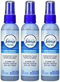 Febreze Fabric Refresher 2.8 oz Travel to-Go Size Febreze Fabric Spray, 3-Pack
