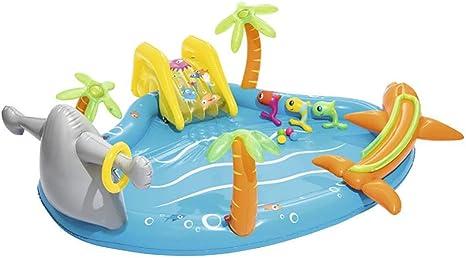 Instag Fuente Inflable Piscina de Bolas para el océano Piscina Infantil para niños Piscina Engrosamiento Piscinas para niños Niños Criaturas Marinas Decorar Diversión Piscina: Amazon.es: Deportes y aire libre