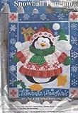 Design Works Crafts 5111 Snowball Penguin Felt Wall Decor Kit, 15'' x 18'', Various