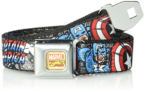 captain america belt with buckle - 7