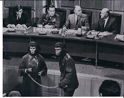 Roddy Hunter (Escape From The Planet of The Apes Roddy McDowall, Kim Hunter, John Randolph & Eric Braeden 8 x 10 Promo Photo #5)