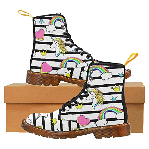 Stivali Da Donna Di Interestprint Scarpe Stringate Comfort Dal Design Unico Multi 8