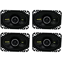 4) New Kicker 40CS464 4x6 300W 2 Way Car Coaxial Speakers Stereo Audio CS464