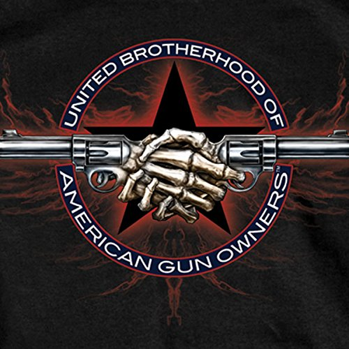 Hot Leathers Gun Shake Short Sleeve 100% Cotton
