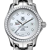 Chi Omega Women's TAG Heuer Link with Diamond Dial & Bezel