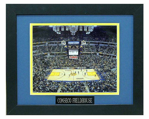 (Conseco Fieldhouse, Home of the Indiana Pacers. Professionally Matted an Framed 8x10 Photo to an 11x14)