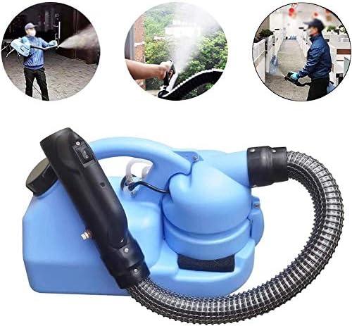 電気ULVスプレーヤーポータブルフォガーマシン消毒機病院用ホーム超容量スプレーマシン、スプレーボトルプラスチックブルー