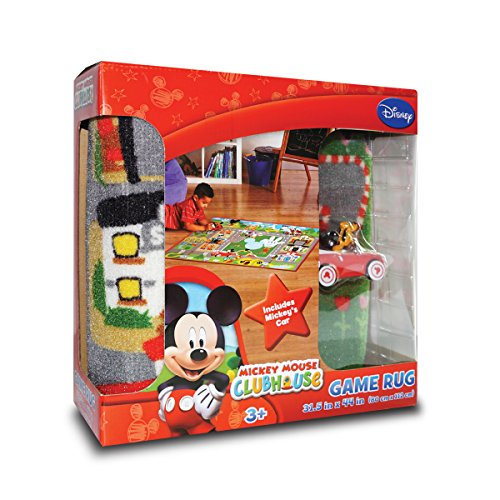 Gertmenian Disney Mickey Mouse Clubhouse Toys Rug Play Mat G