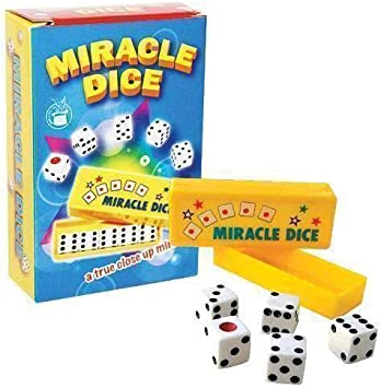 SOLOMAGIA Miracle Dice (5 Dice) - Close-Up Magic - Trucos Magia y la Magia - Magic Tricks and Props: Amazon.es: Juguetes y juegos