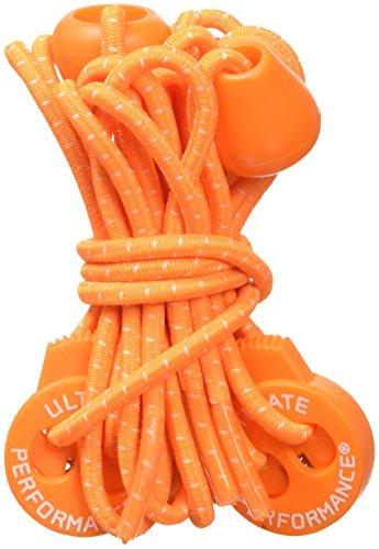 Ultimate Performance Elastic Laces - AW16 Naranja