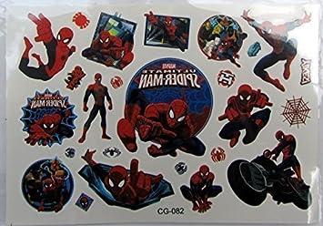 Shihan Spiderman 2 Tatuajes Movie Superhéroes UNION niño Flash ...